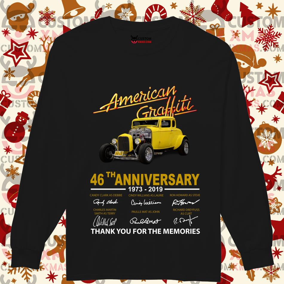 American Graffiti 46th anniversary 1973 2019 thank you for the memories Longsleeved