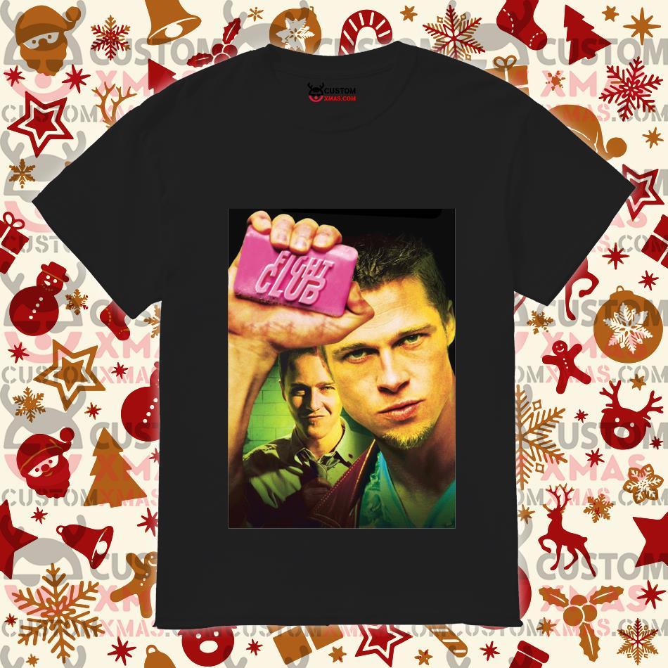 Brad Pitt Soap Fight Club shirt