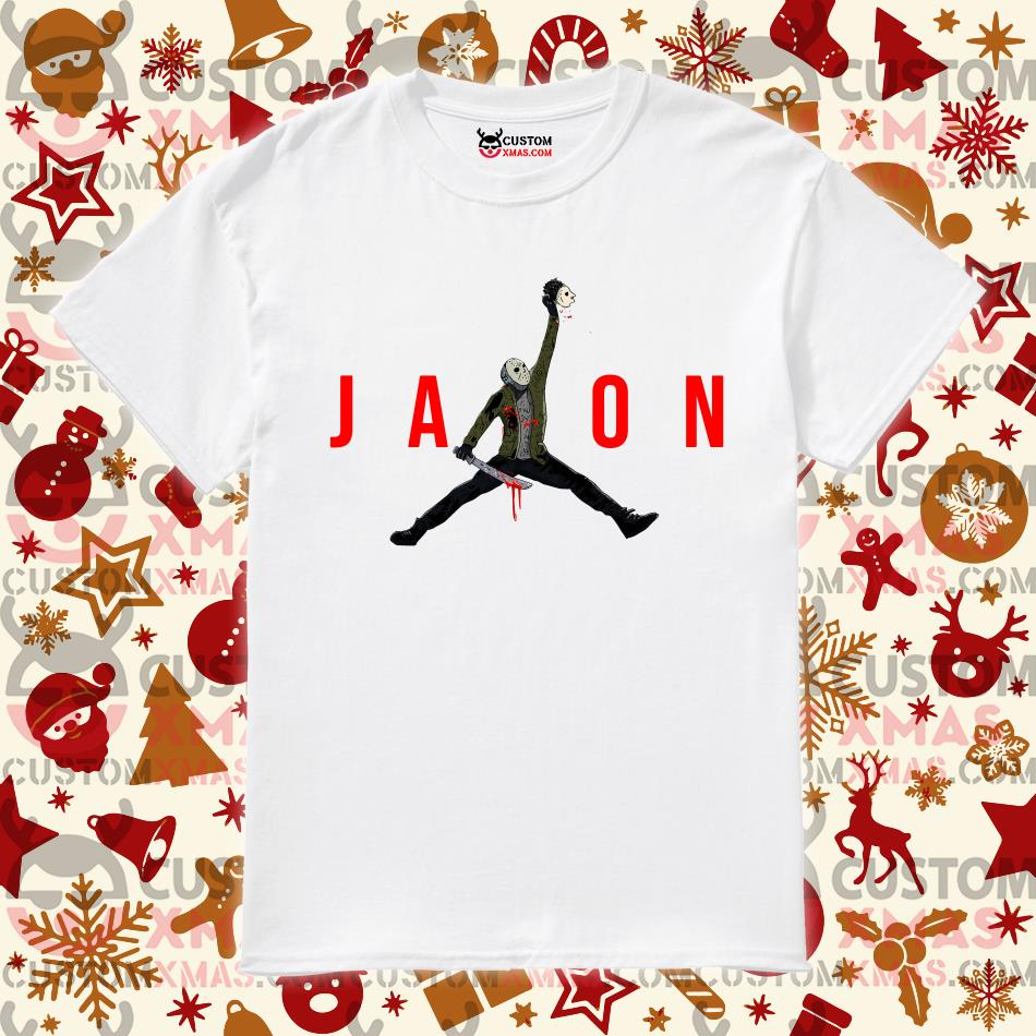 Jason Air Jordan shirt