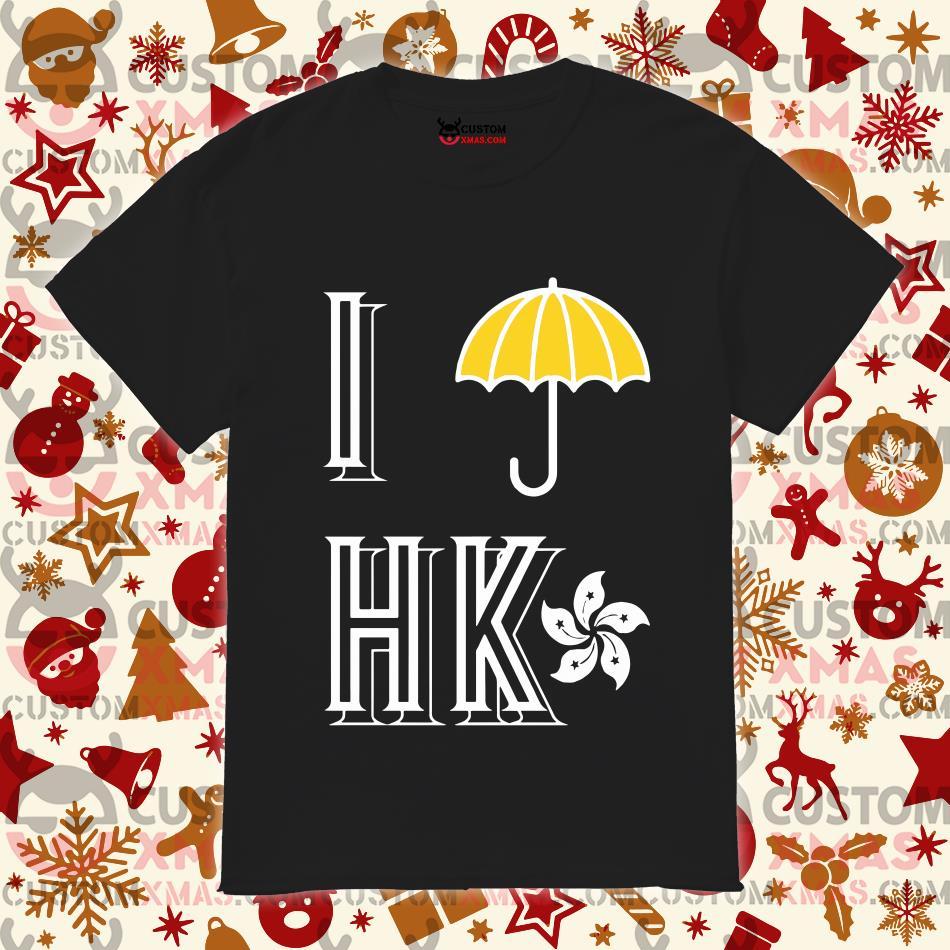 Yellow Umbrella Strong Hong Kong SHIRT