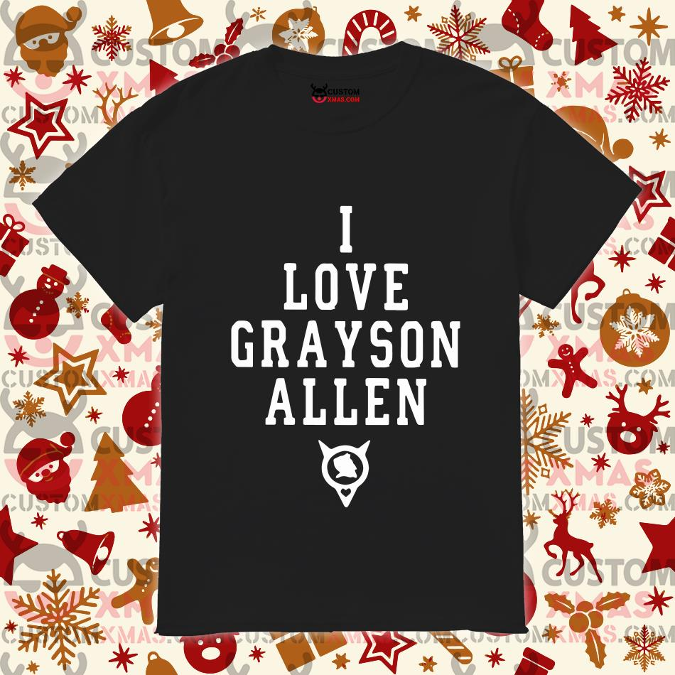 Duke Basketball I Love Grayson Allen Shirt Customxmas
