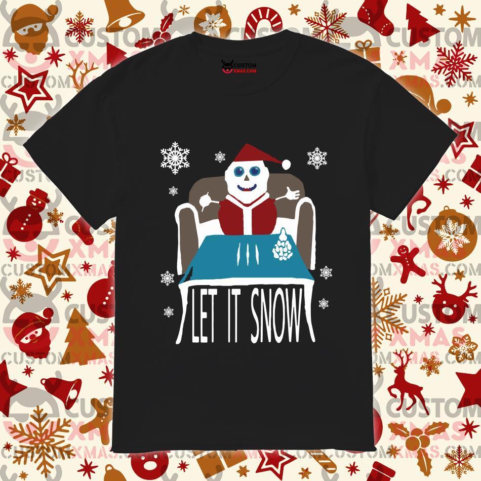 Walmart apologizes for Christmas Let it snow sweatshirt