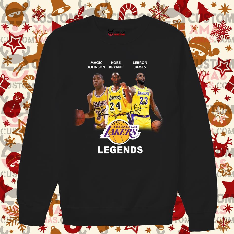 Magic Johnson Kobe Bryant Lebron James Legends T-Shirt Tee Shirt S-5XL
