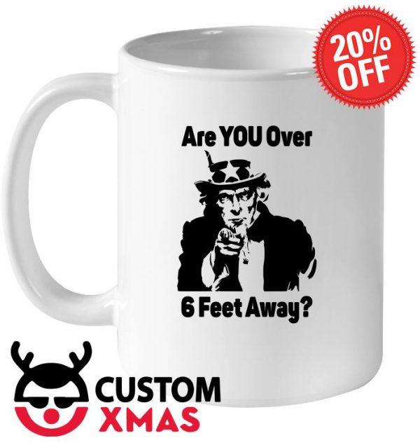 Uncle Sam Asks Are You Social Distancing mug