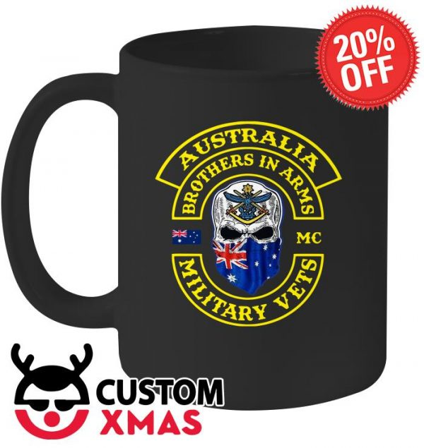Ausstralia brothers in ARMS military vets mug