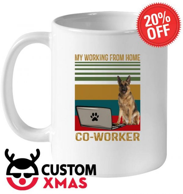 Berger my working from home CO-Worker mug