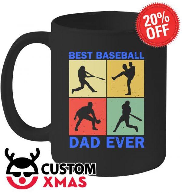 Best Baseball dad ever mug