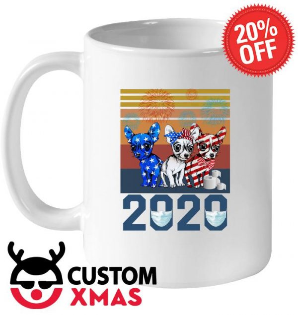 Chihuahua Independence Day 2020 vintage mug