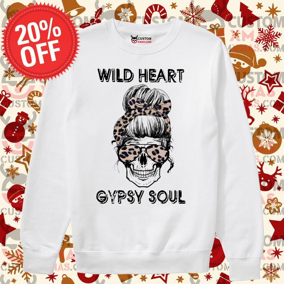 Bull Skull Western Girl Shirt Wild Heart