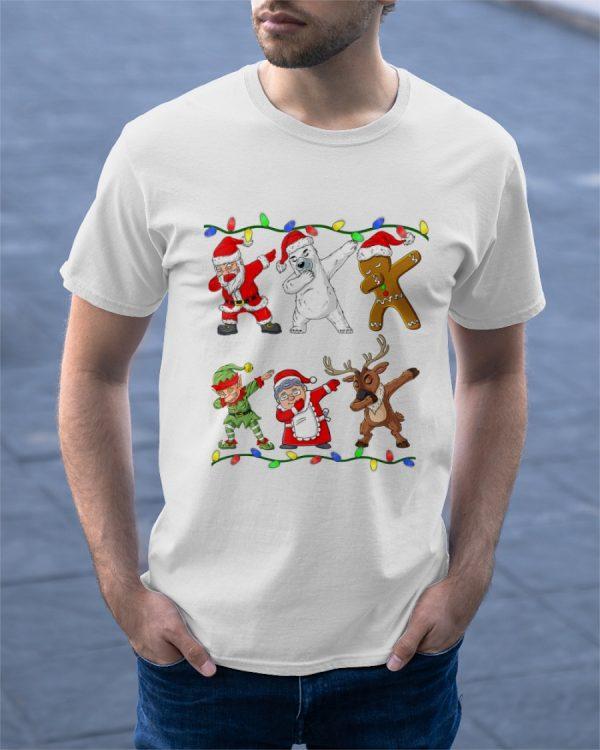 Christmas Dabbing Santa Elf Xmas T Shirt Classic T Shirt